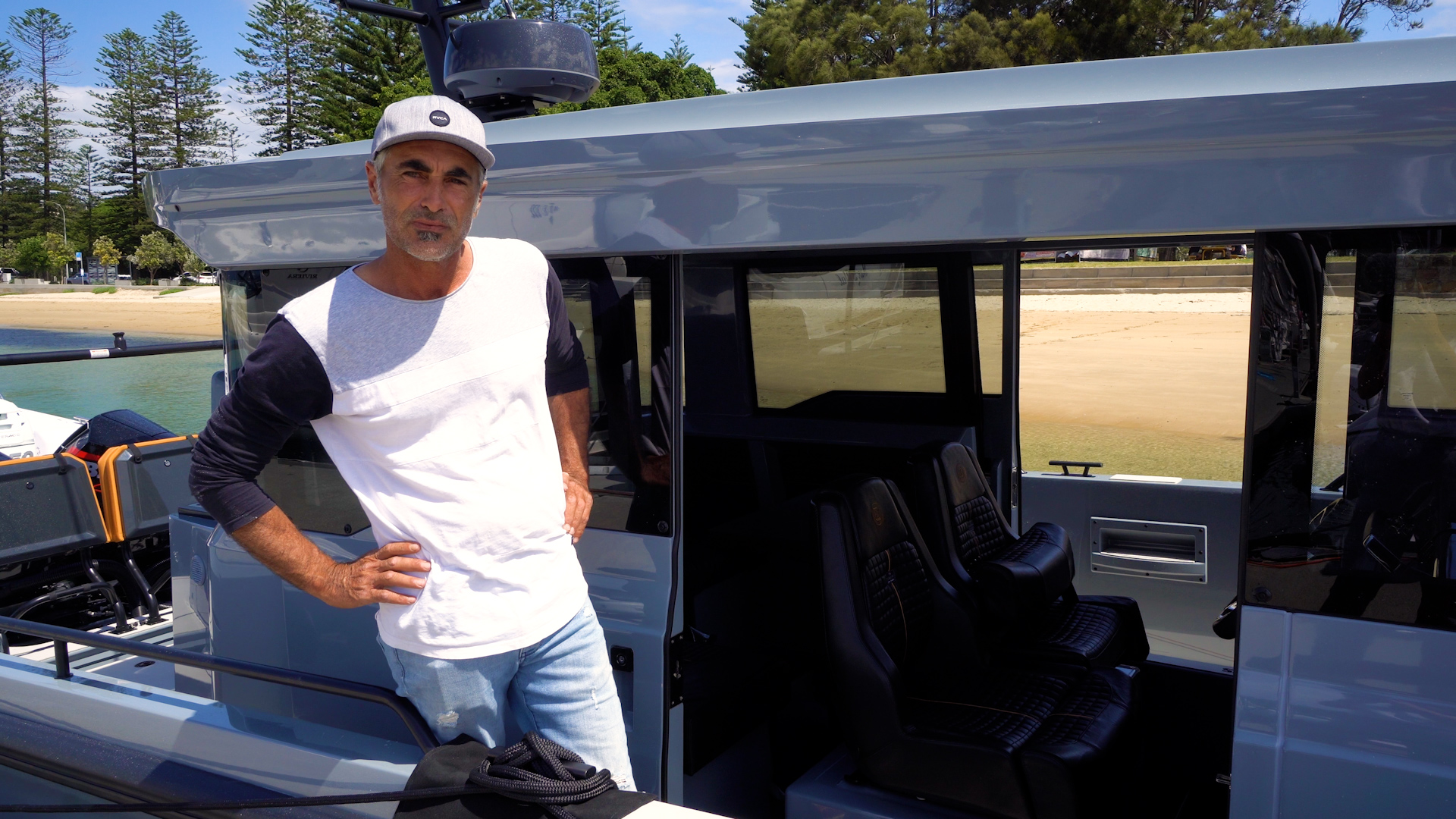Dean Husband photographed onboard the BRABUS Shadow 900 XC