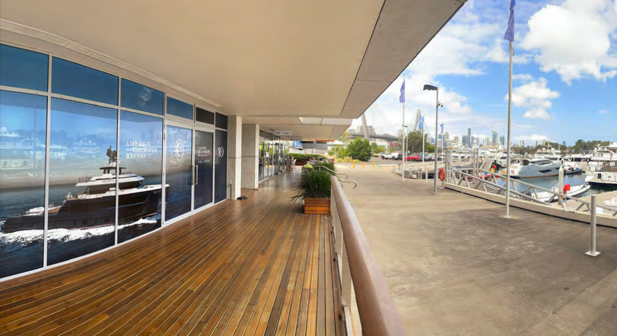 Exterior of the new Cantiere Delle Marche offices in Sydney