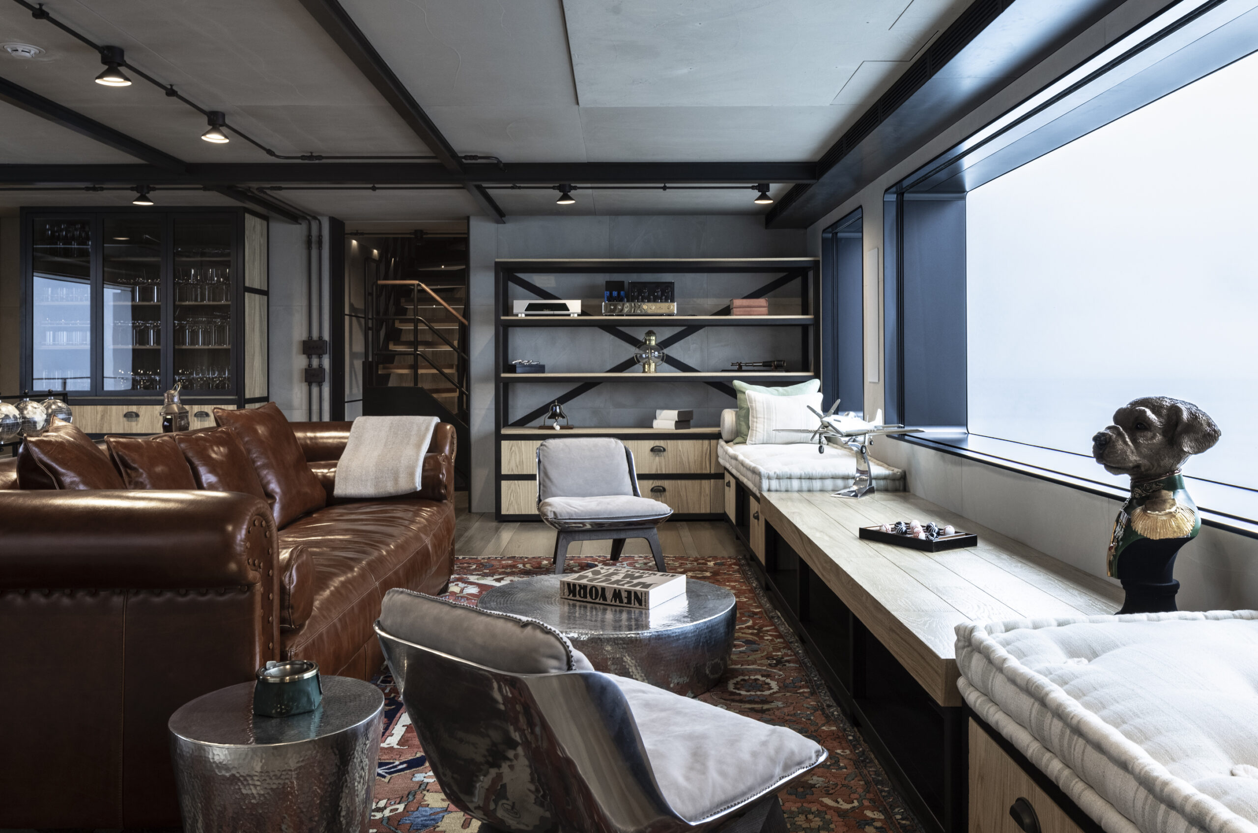 living are onboard the Flexplorer 130