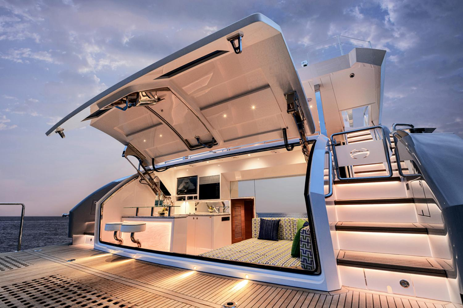 easy access to living quarters onboard the FD87
