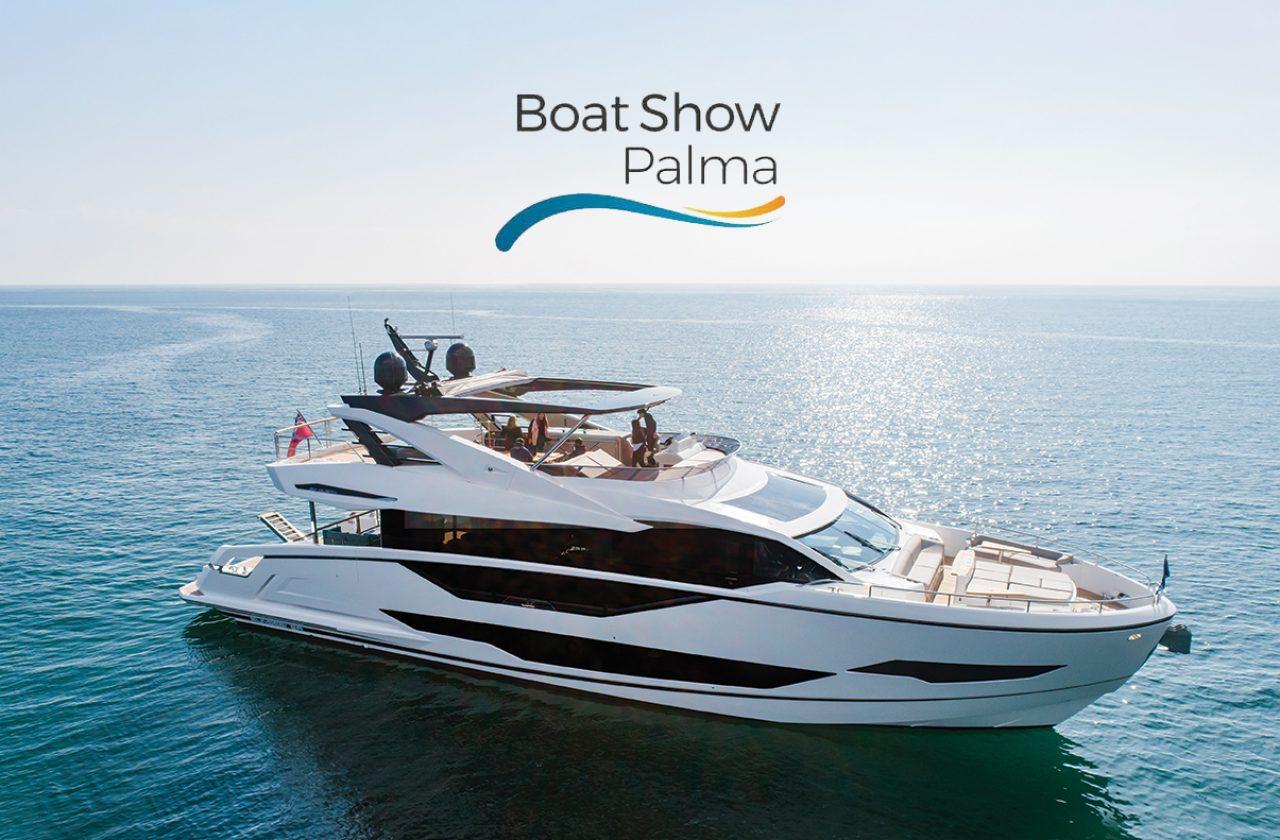 Sunseeker promotion for Palma Boat Shhow
