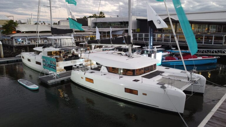 The Multihull Group stand at sanctuary cove