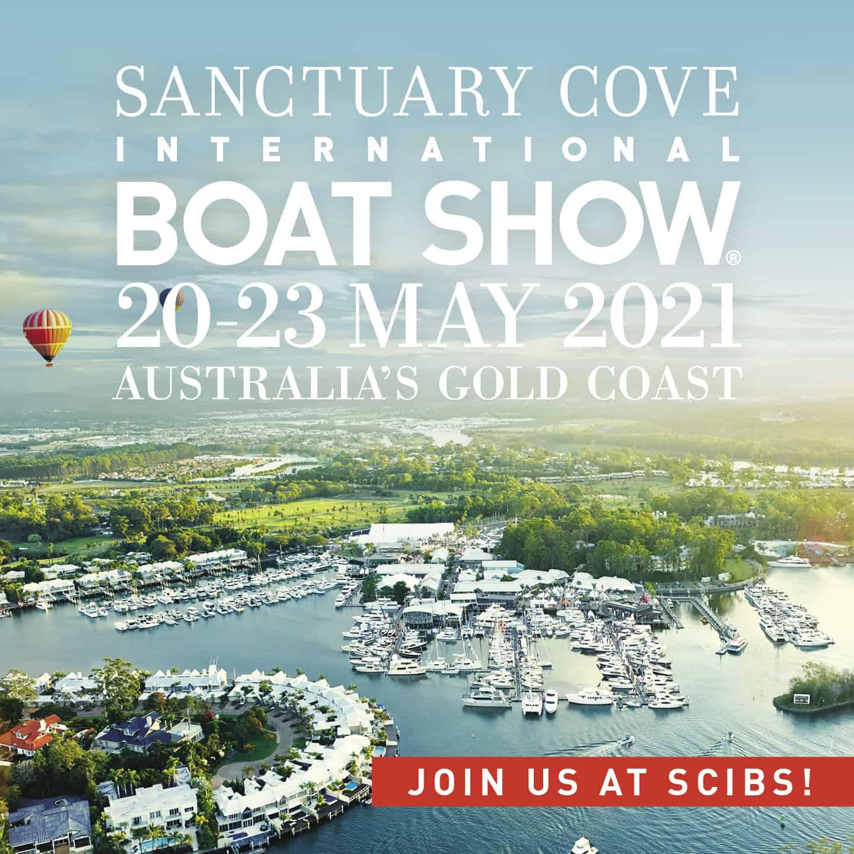 Sanctuary Cove International Boat Show banner