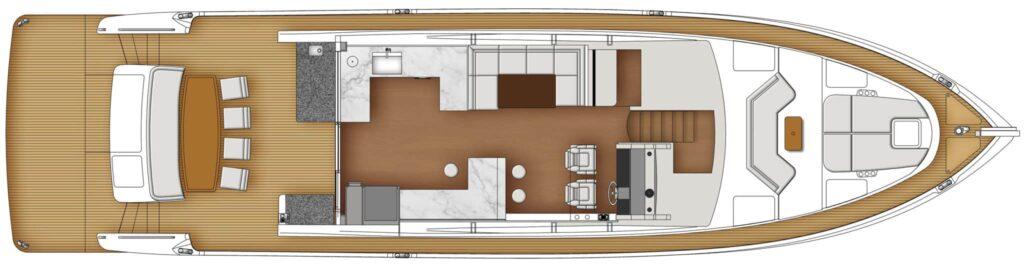 Whitehaven 6800 main deck