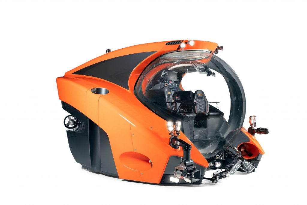 product shot of the C-Researcher 3 from U Boat Worx