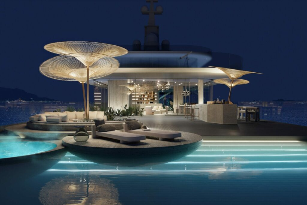 Biophilic design onboard a Superyacht