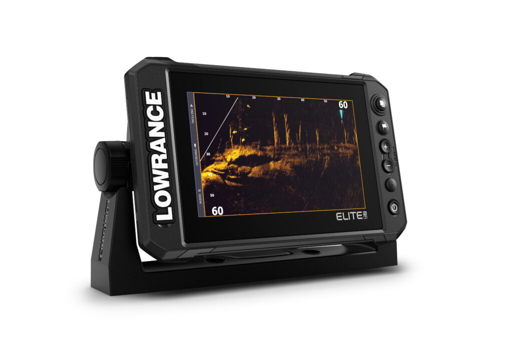 product shot of the Lowrance Elite Fishing System