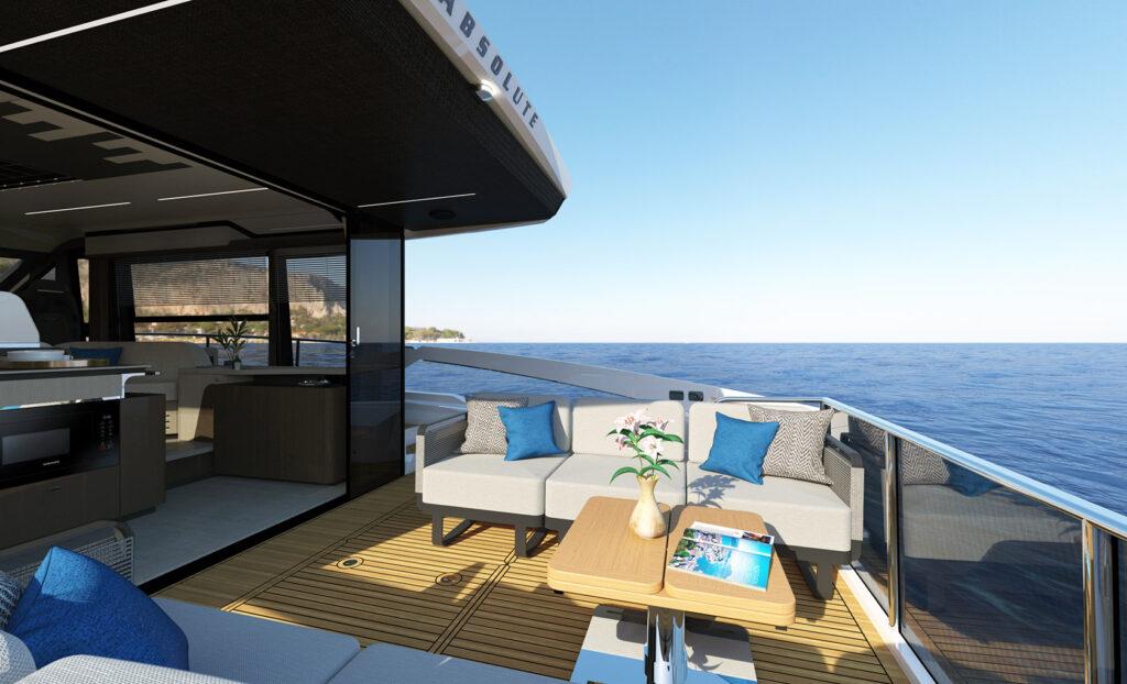 aft deck in sunlight