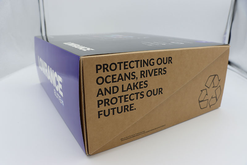 Recyclable box for Navico products