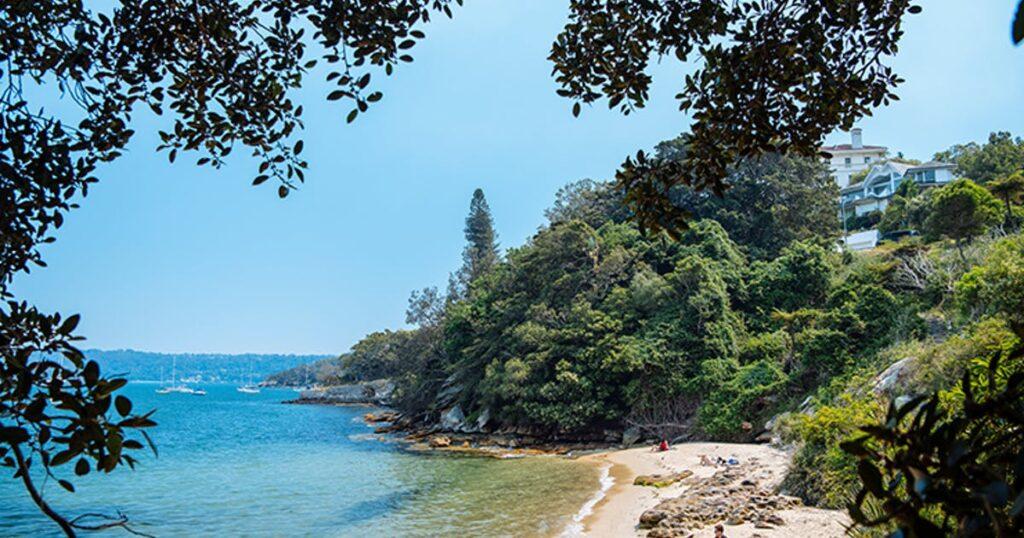 view of queens beach