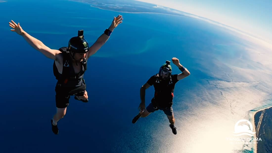base jumpers at the nitro games