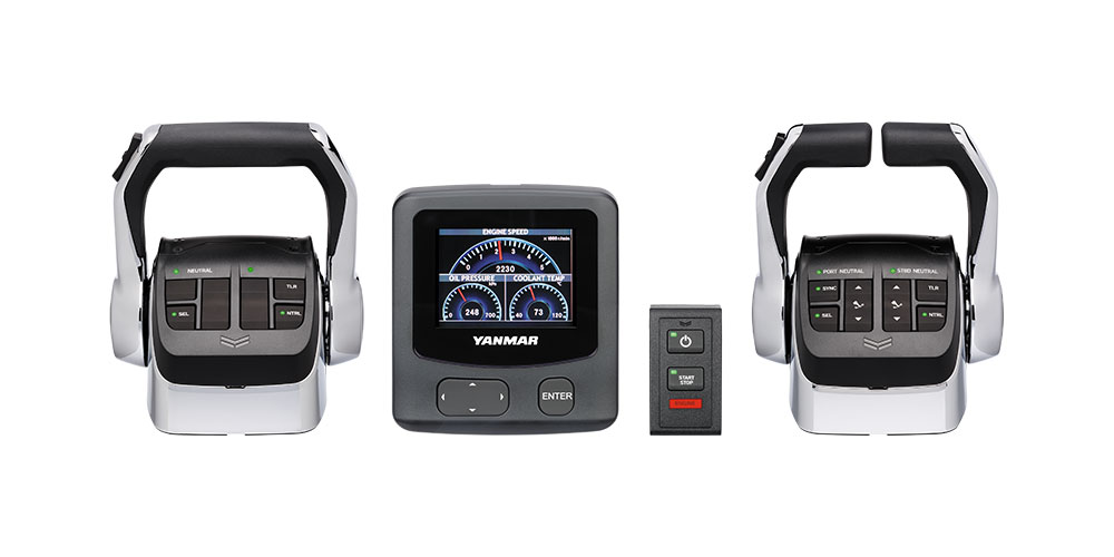 Product shot of the VC20 from YANMAR