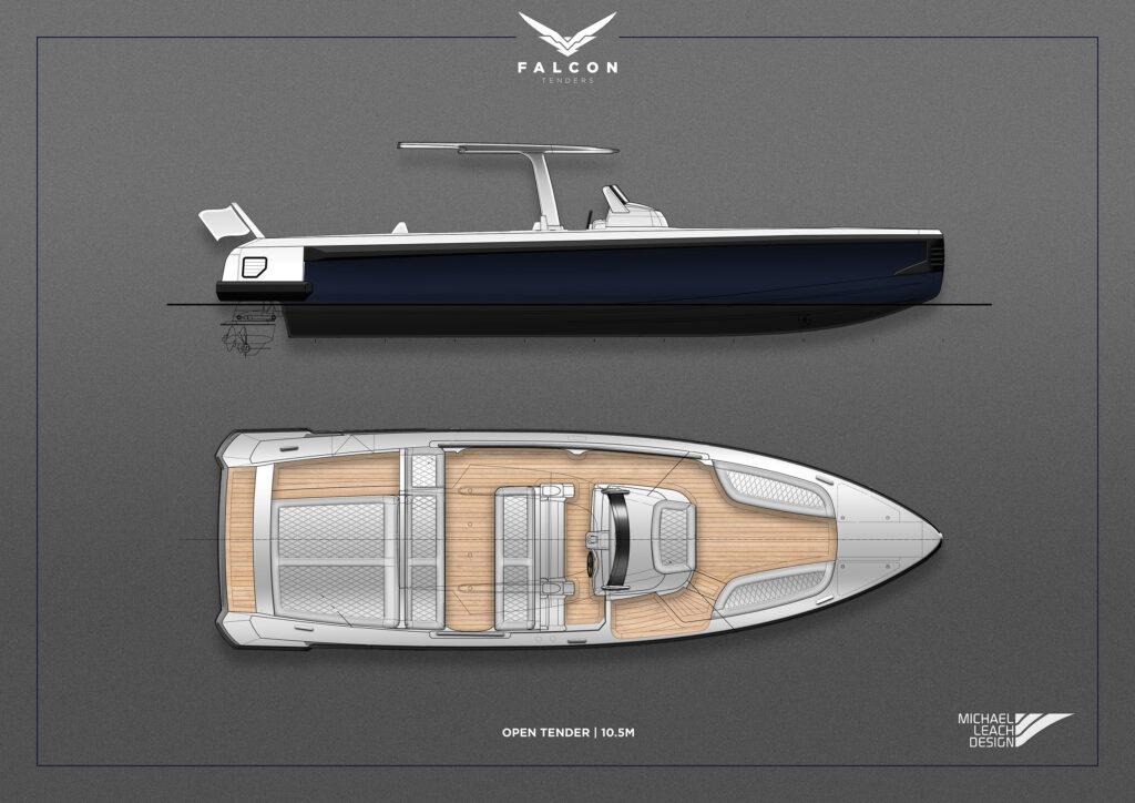 Falcon Tenders design by Micheal Leach