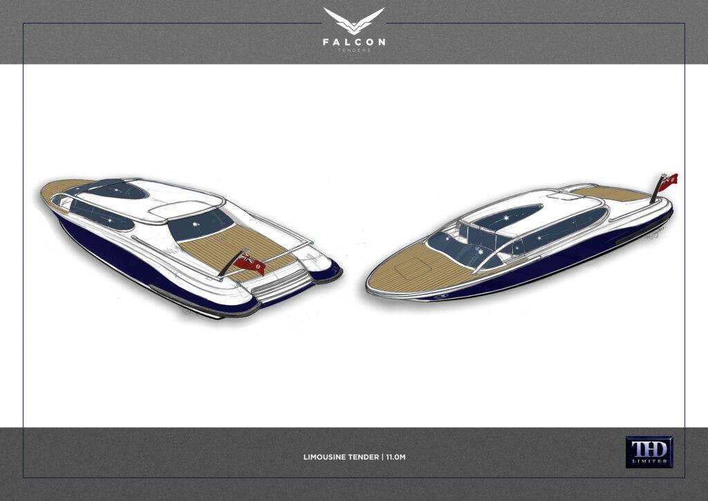 limousine tender design by Tim Heywood