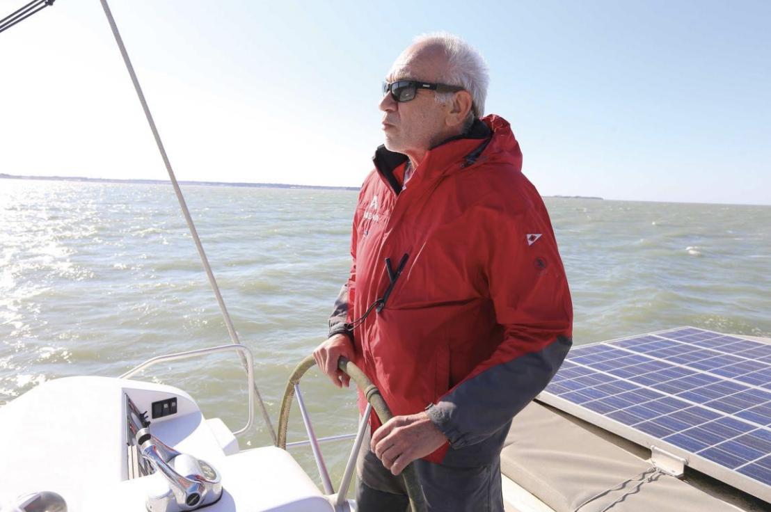 Bernard Nivelt onboard LEEN 56
