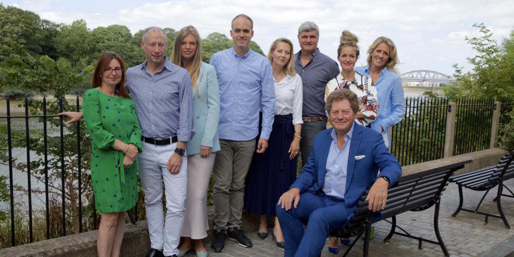 senior leadership team at Winch Design