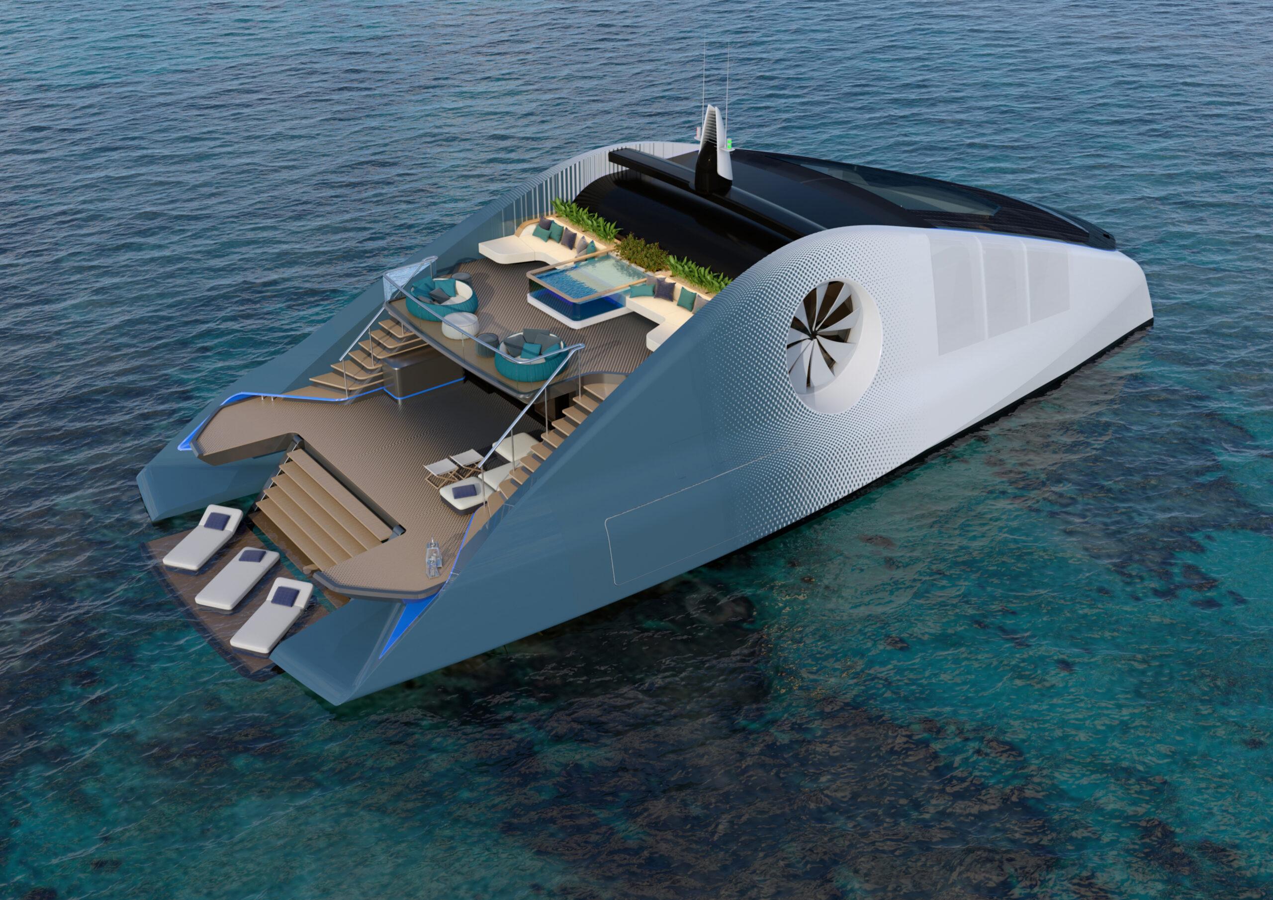 render of Cetacean from Luca Dini Design
