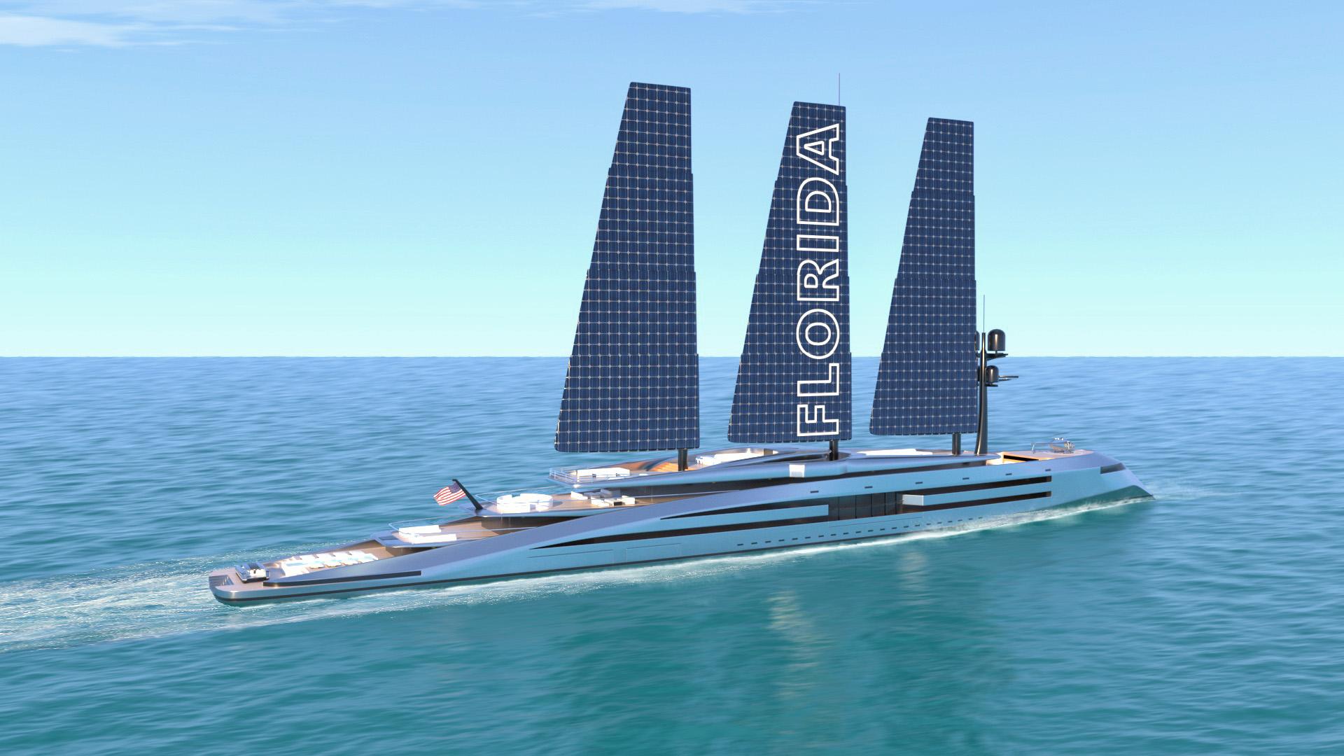 rende rof the Florida superyacht pictured cruising
