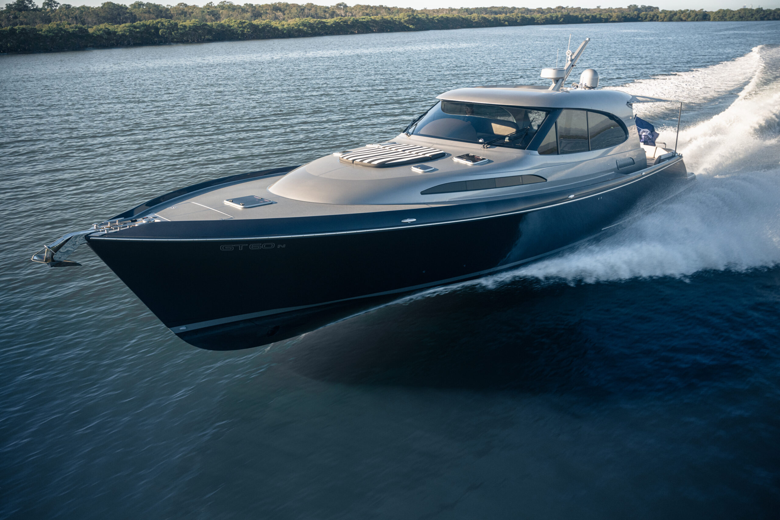 Palm Beach GT60 cruising
