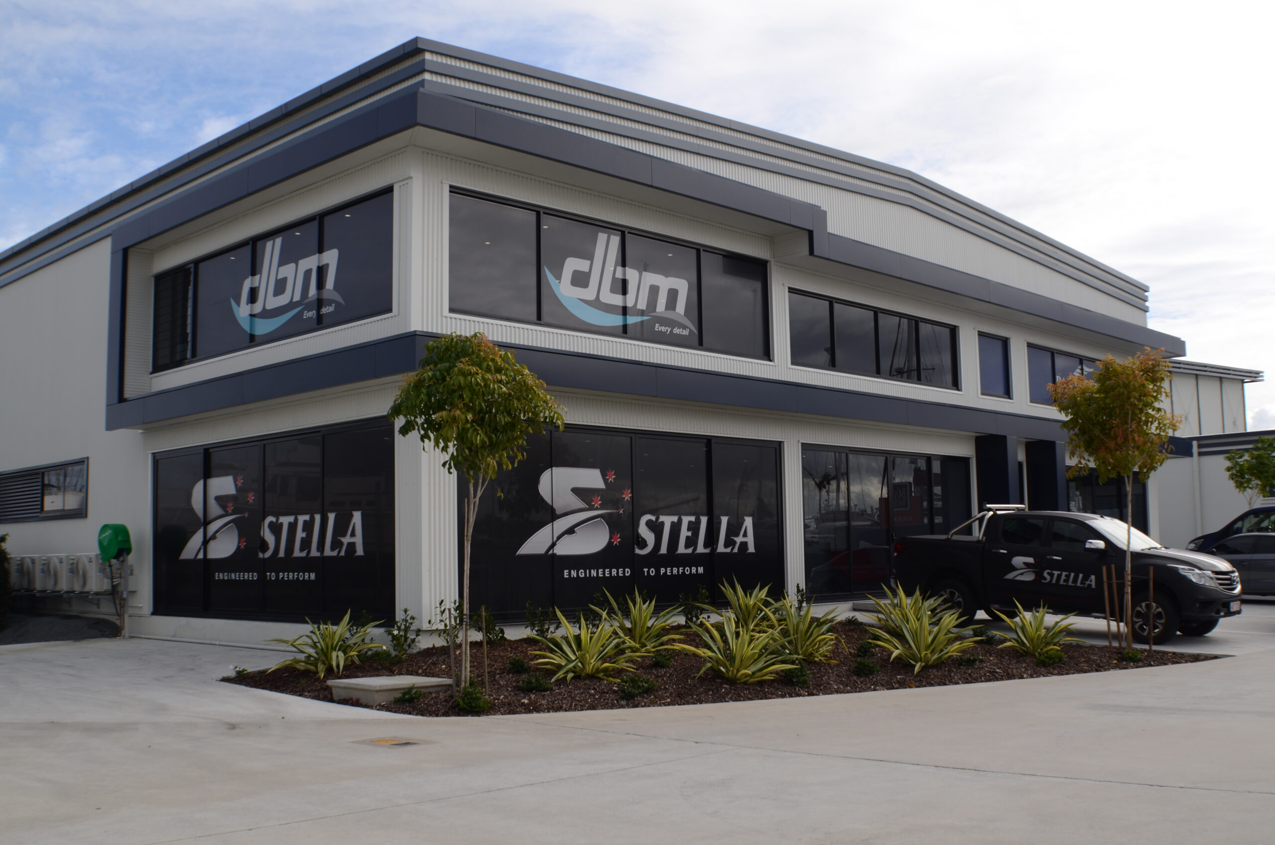 the new Stella building