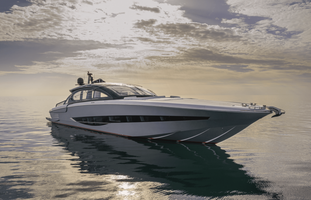 ISA Super Sportivo 100 GTO anchored and pictured form front