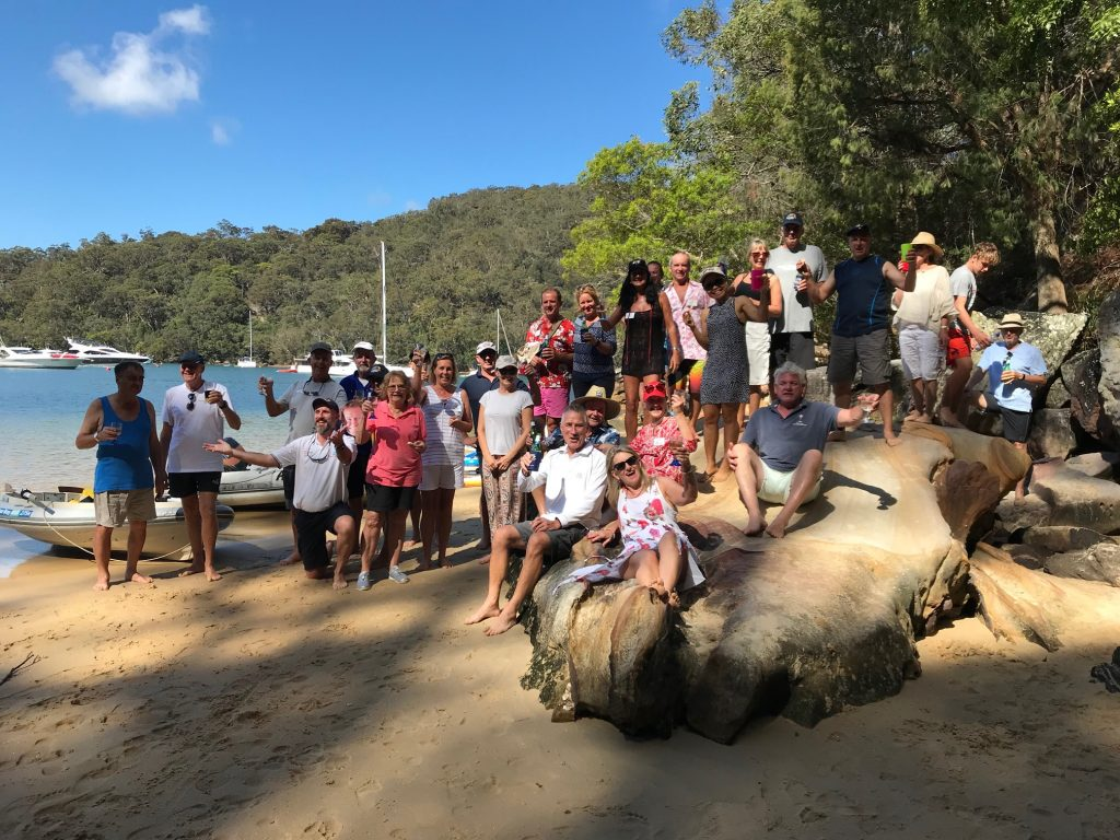 Multihull Solutions Pittwater Rally attendees
