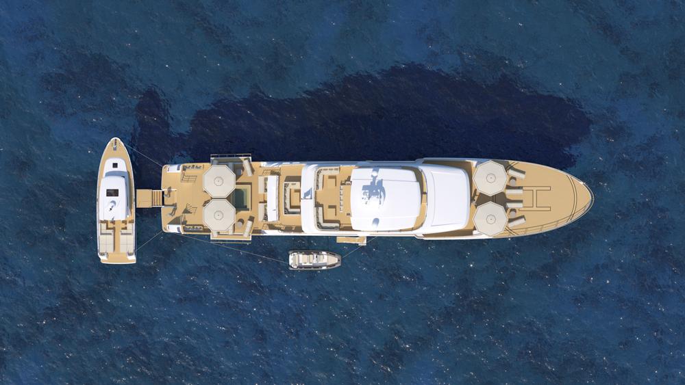 aerial shot of the Explorer 49.5