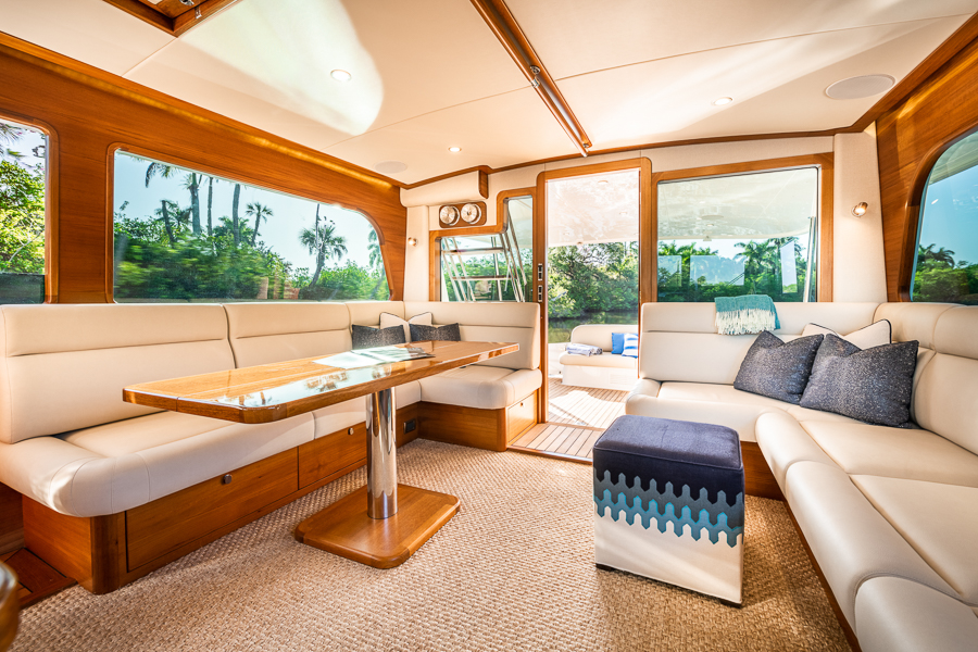 living area onboard GB54