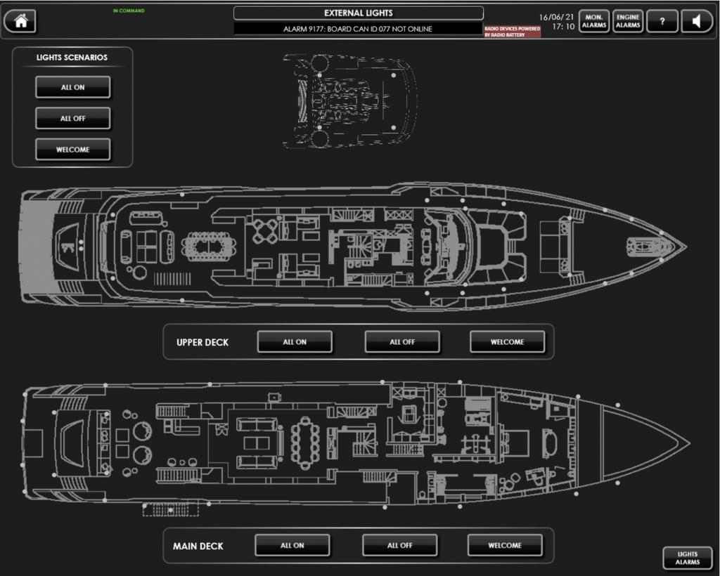 screenshot of the i-bridge system