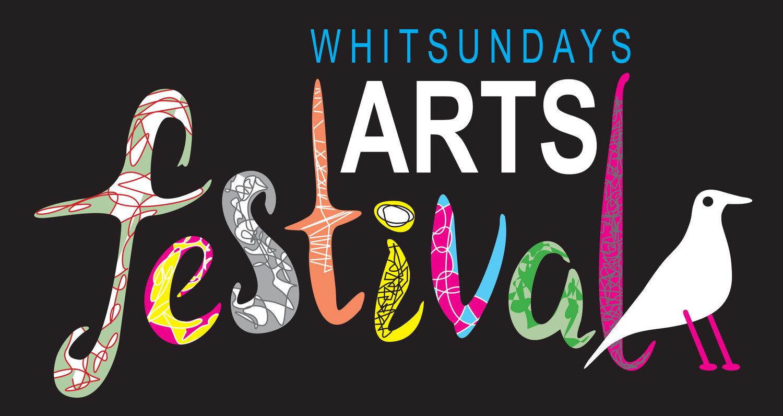 promotional logo for the Whitsundays Arts Festival
