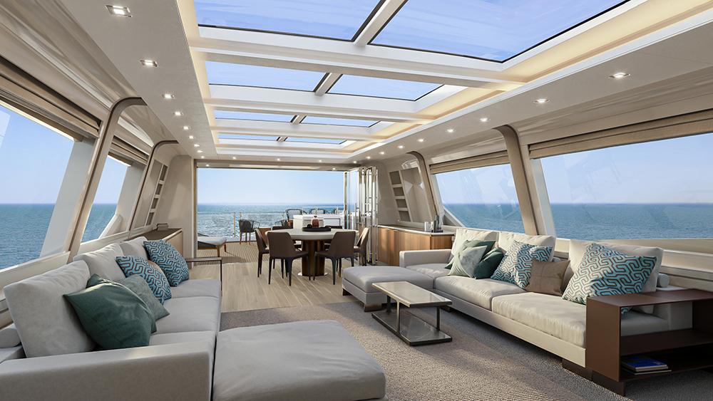 MCY105 Skylounge living area