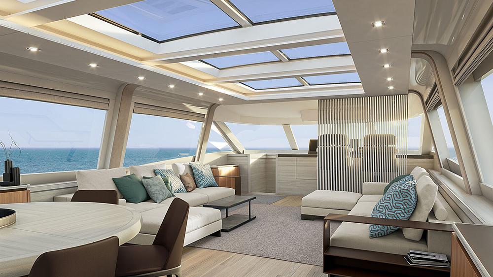 MCY105 Skylounge living area angle
