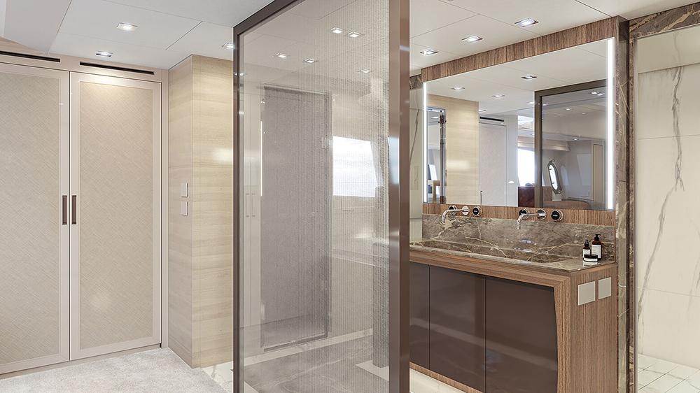MCY105 Skylounge bathroom