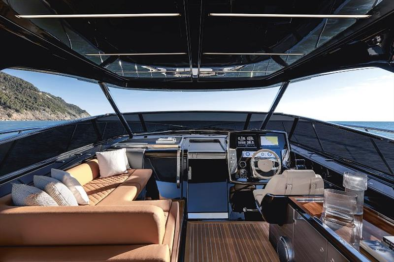 Interior shot of the Rivale 56 from Riva Yachts