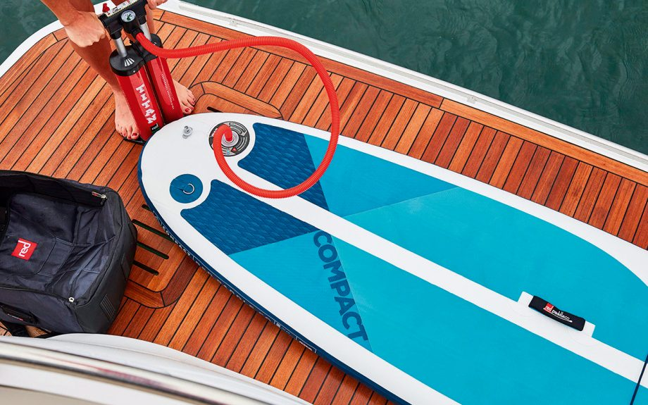 product shot for the Red Paddle Co Compact SUP