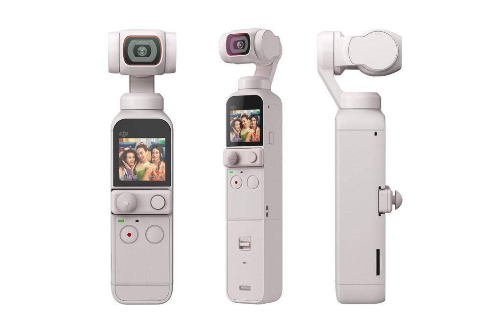 DJI Pocket 2 Sunset White product shot