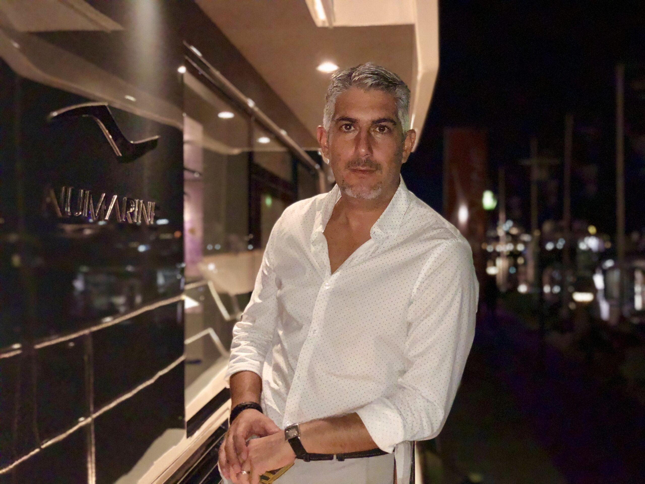 portrait of Ugur Sahin, new domestic sales manager for Numarine