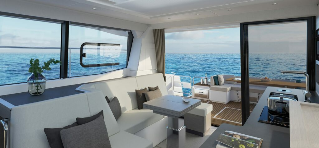 Fountaine Pajot MY4.S living area