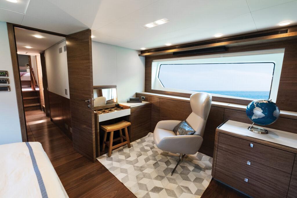 interior shot onboard CLB72