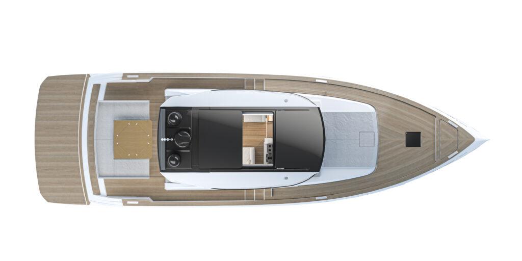 Main deck plan view