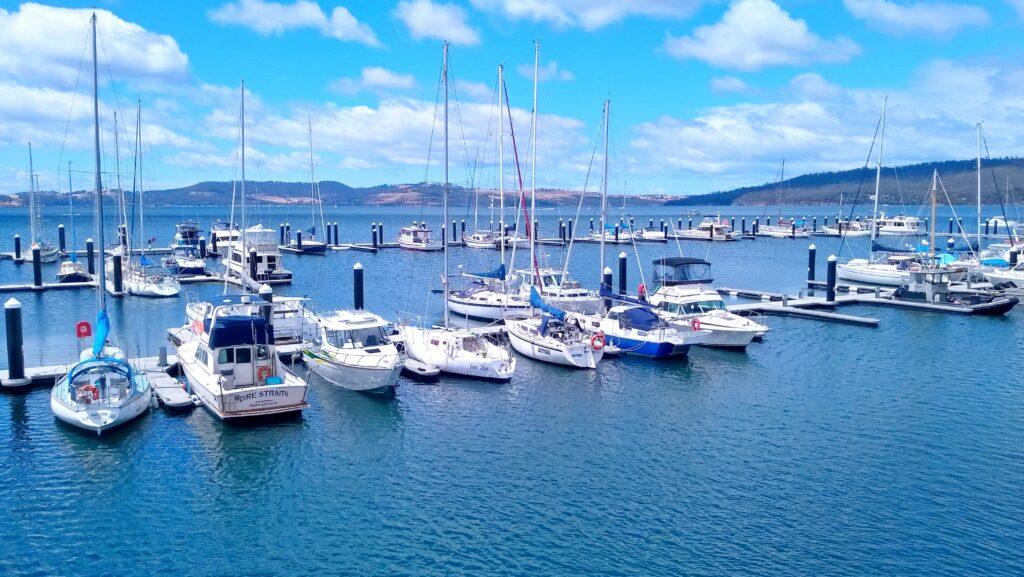 Margate Marina in the sun