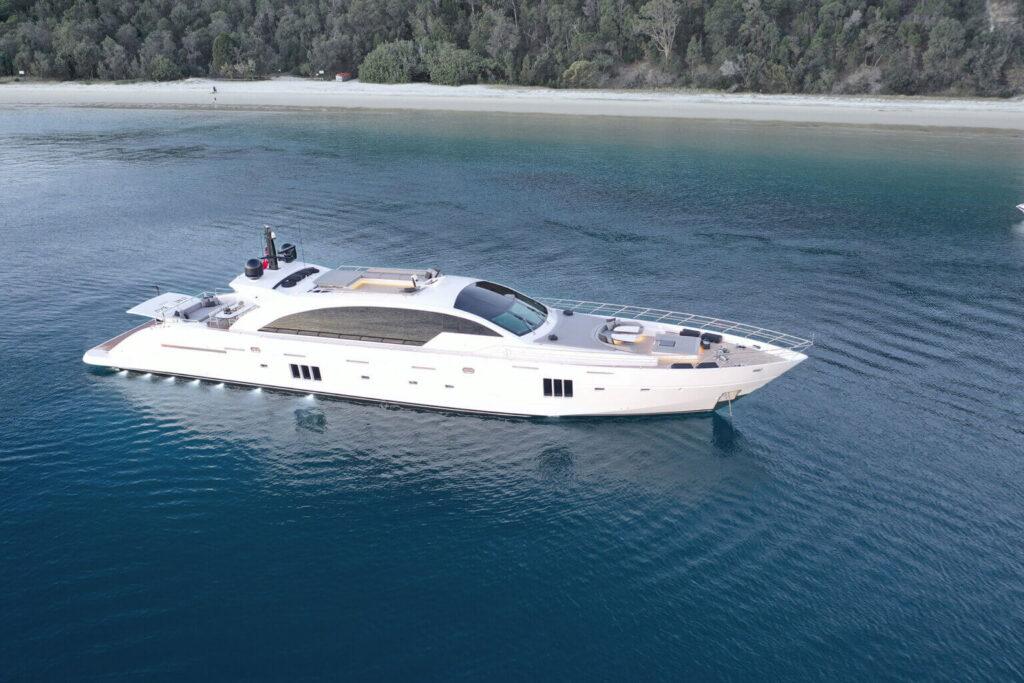 One O One Charter yacht cruising
