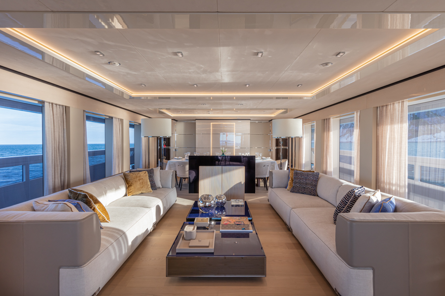 Columbis sport interior living completed by videoworks