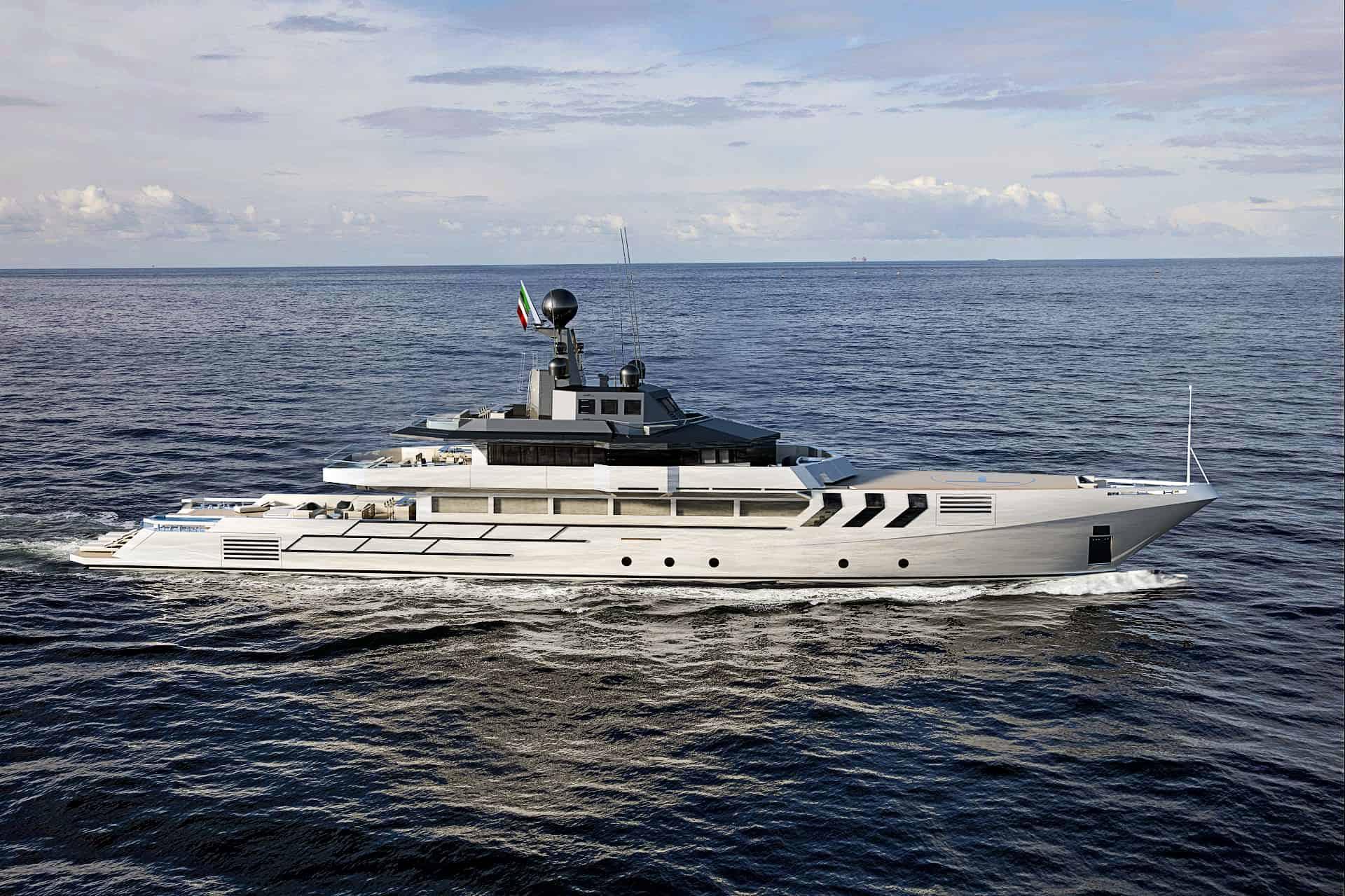 OPV 56 from Antonini Navi cruising