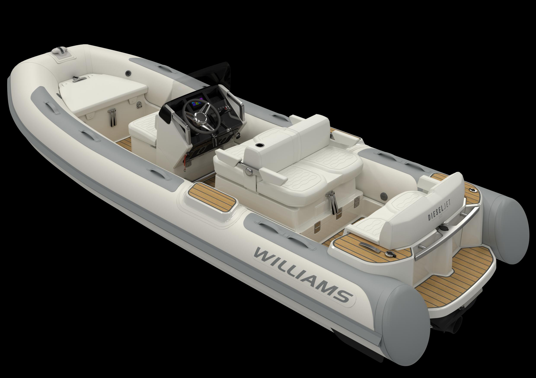 product shot for Williams Jet Tenders DieselJet 505