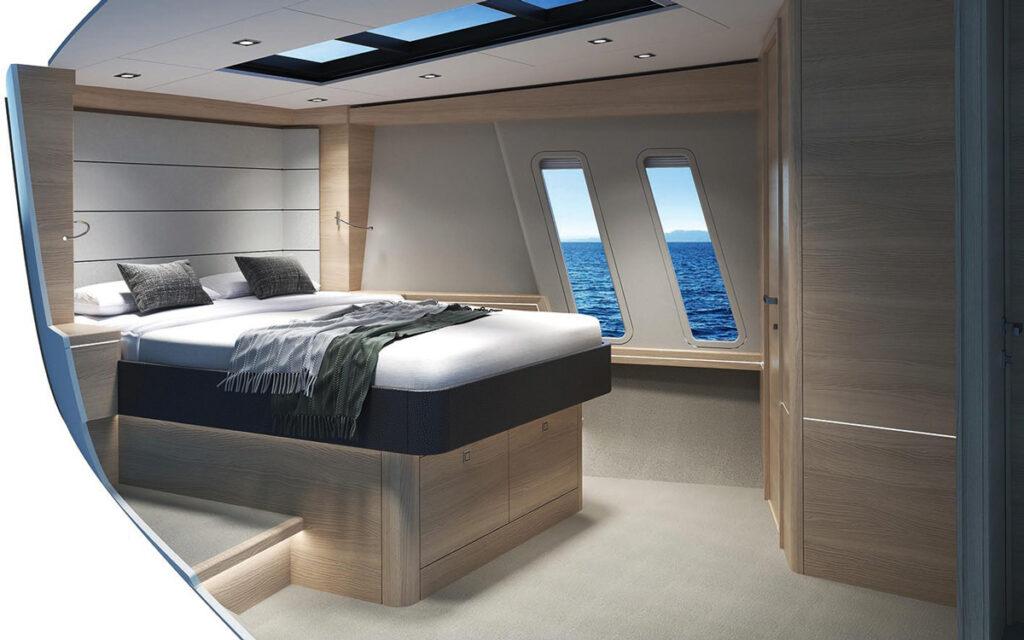 render of master suite onboard CMY 173