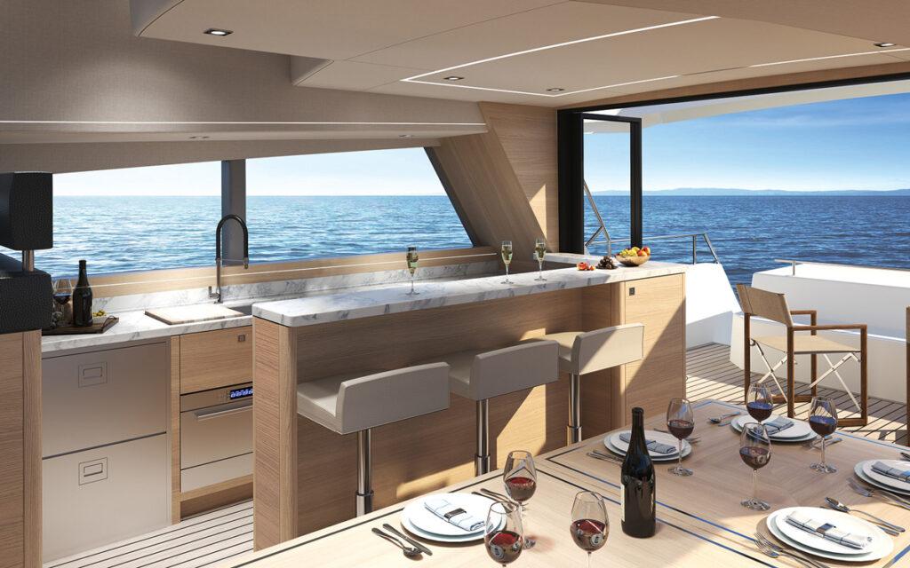 render of saloon onboard CMY 173