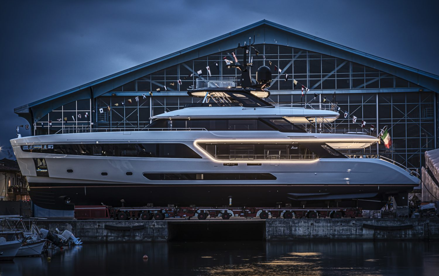 Benetti Motopanfilo 37M being launched