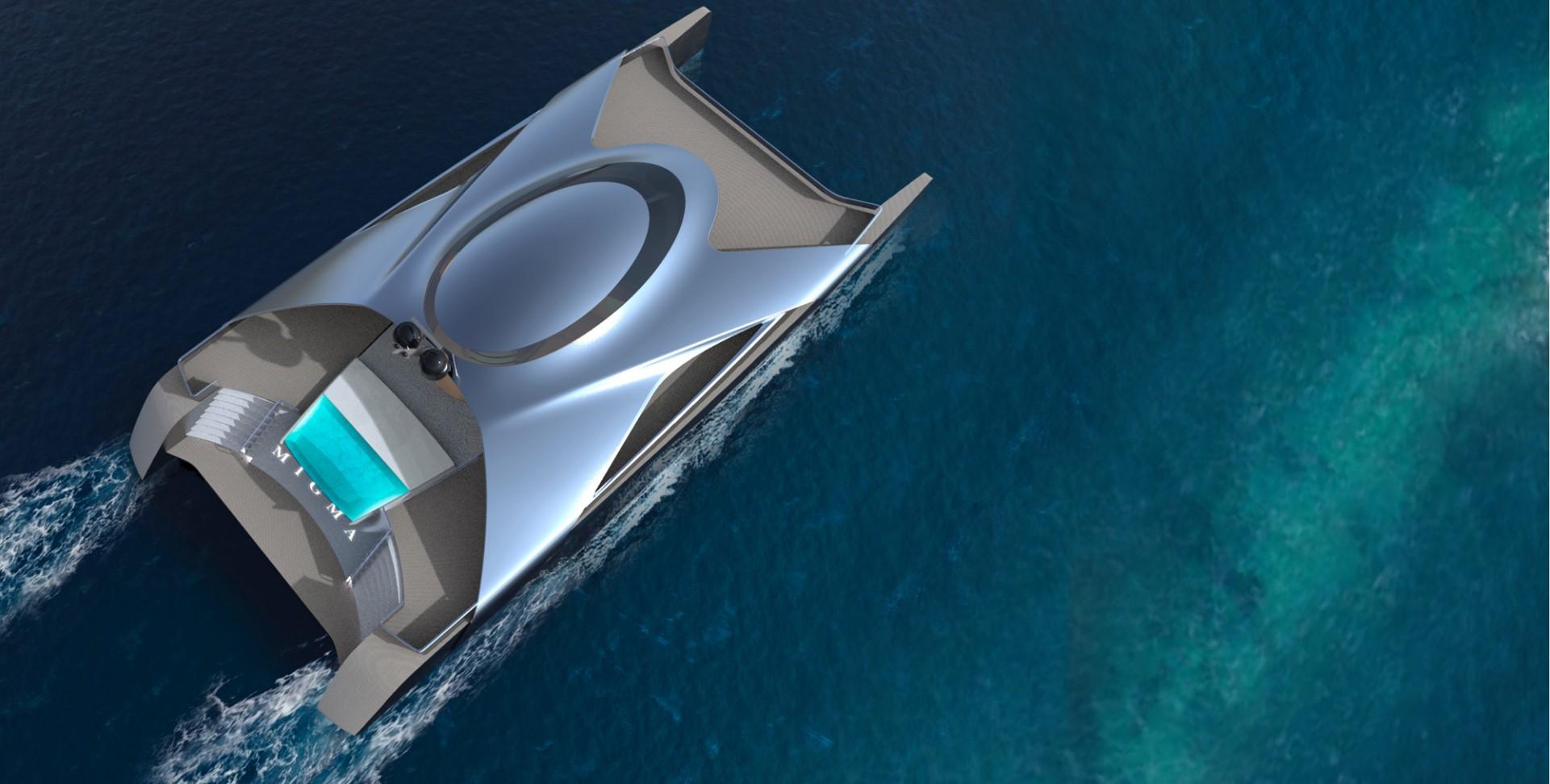 aerial shot of migma concept