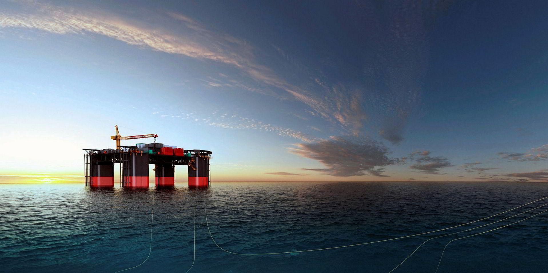 Chevron's Janz-io Compression project off the coast of Western Australia